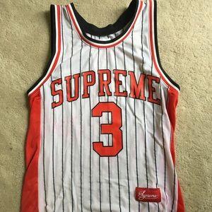 Supreme basketball jersey